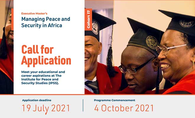 Call for Application: Managing Peace and Security in Africa (MPSA), Cohort 17